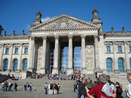 Reichstag - frontal view