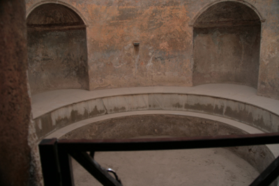 One of the baths in the Bath.