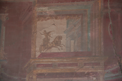 Ancient wall painting.