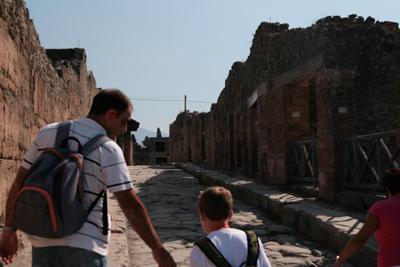 Side street, Pompeii