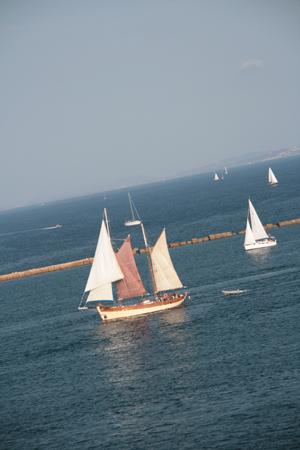 Idyllic sailling.