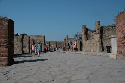 Main street, Pompeii